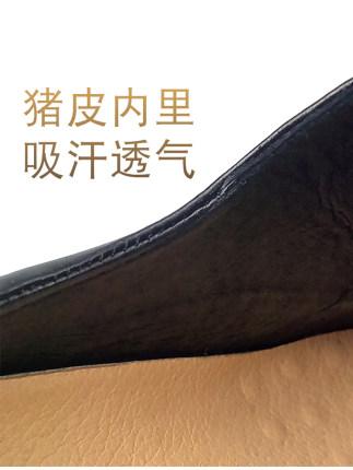 Giày da Khiên vua da mùa hè thoáng khí nam và nữ nhẹ lao động bảo hộ lao động giày da mềm đế dưới