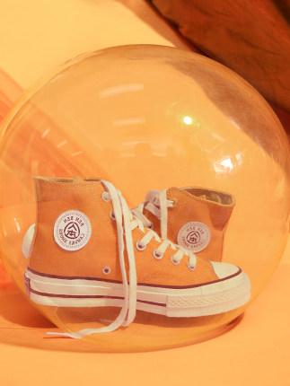 giày vải Giày chính thức cho mọi người mùa xuân mới hoang dã giày cao cấp thập niên 1970 retro giày