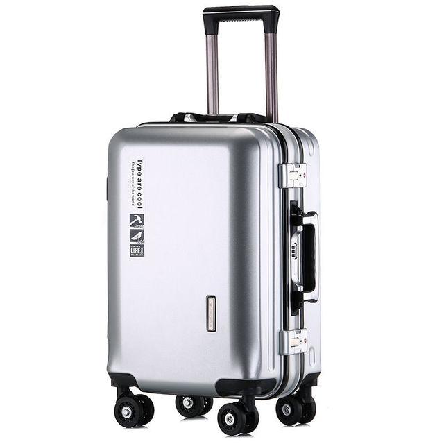 Vali hành lý nhãn hiệu Kangaroo chất liệu khung nhôm loại bánh xe đẩy