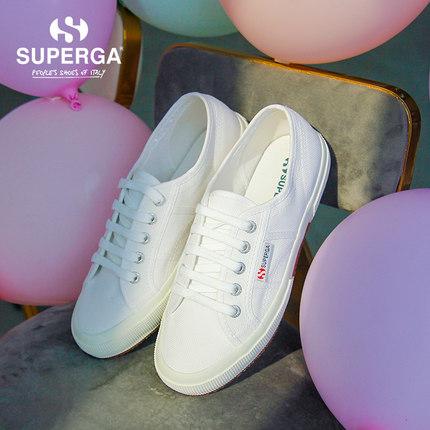 Giày nữ trào lưu Hot  Giày cao gót mùa xuân SUPERGA cổ điển 2750 phù hợp với xu hướng cơ bản thoải m