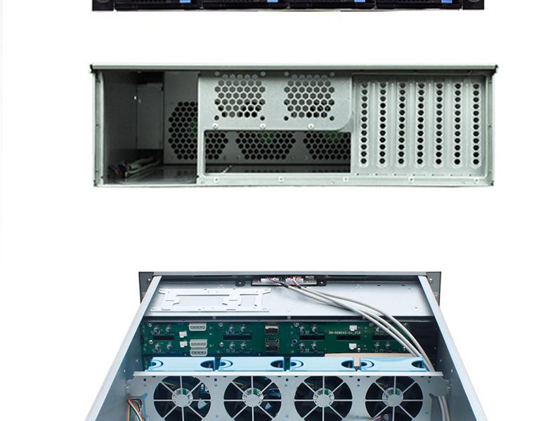 Bộ khung 3D v3-08a 16 ngăn kéo bộ khung còn nóng máy phục vụ lưu trữ phần mềm 3U bộ khung còn nóng