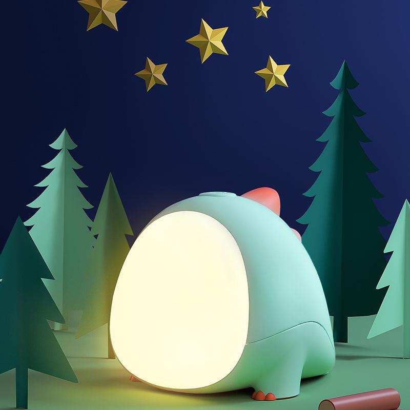 Đèn điện, đèn sạc Đèn ngủ cho bé ngủ đèn ngủ có thể sạc lại bảo vệ mắt sáng tạo bé ngủ cạnh đèn ngủ