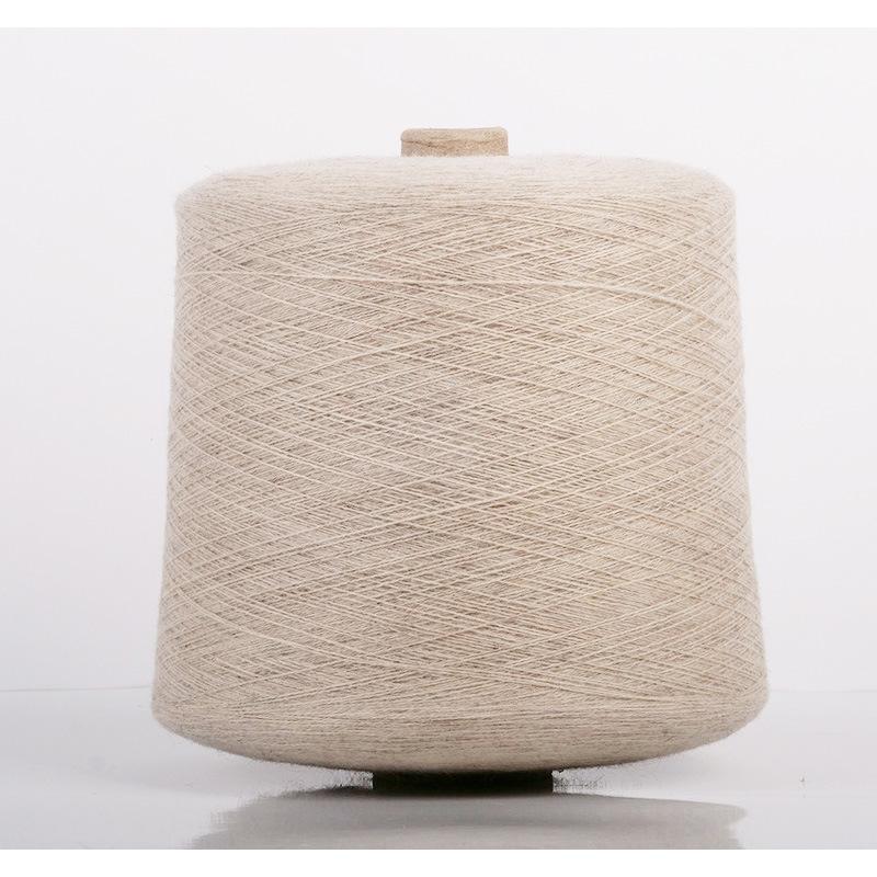 ALBAS Sợi dệt Nội cashmere sợi không nhuộm và không ô nhiễm Sợi cashmere nguyên chất 26 sợi dệt kim