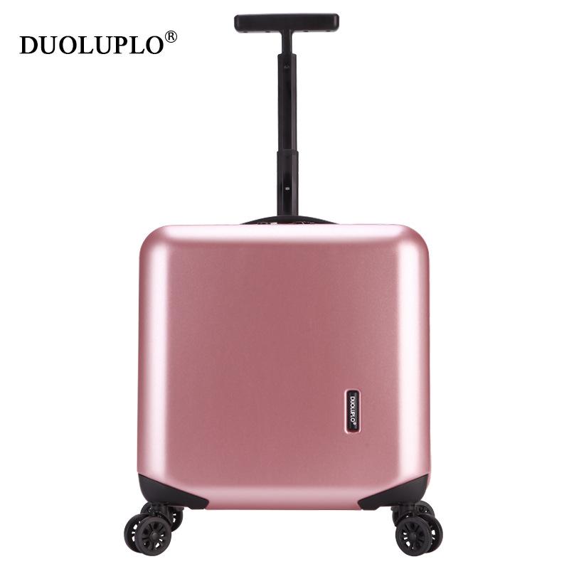 Túi Vali khung nhôm 18 inch có bánh xe đẩy .