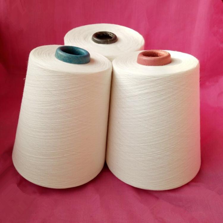ZHENGFANG Sợi pha , sợi tổng hợp Các nhà sản xuất bán buôn sợi polyester pha trộn sợi bông / C50 26
