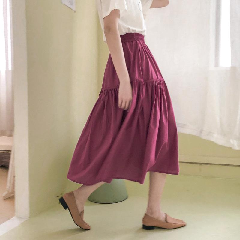 váy Nguồn thể loại Spot Style Casual Mẫu Màu sắc Nguồn hình ảnh chính Chụp thật với các mẫu Cắt ghép