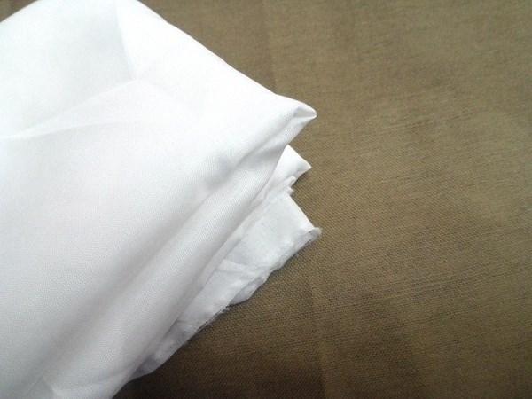 Vải mộc sợi hoá học Vải trắng mềm vải lót lót gối gối bên trong sofa lót vải trắng vải sợi hóa học v