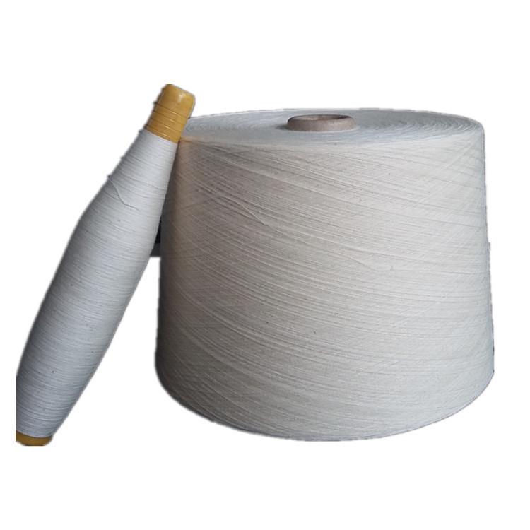 JINHAO Sợi bông Chất liệu cotton trắng tự nhiên nguyên chất 40 đếm sợi bông cao cấp với bán trực tiế