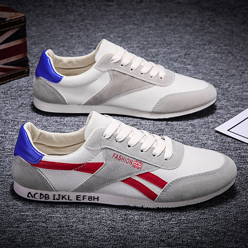 FOORAABO thị trường giày nam Mùa xuân mới giản dị giày forrest nam phiên bản Hàn Quốc của xu hướng g