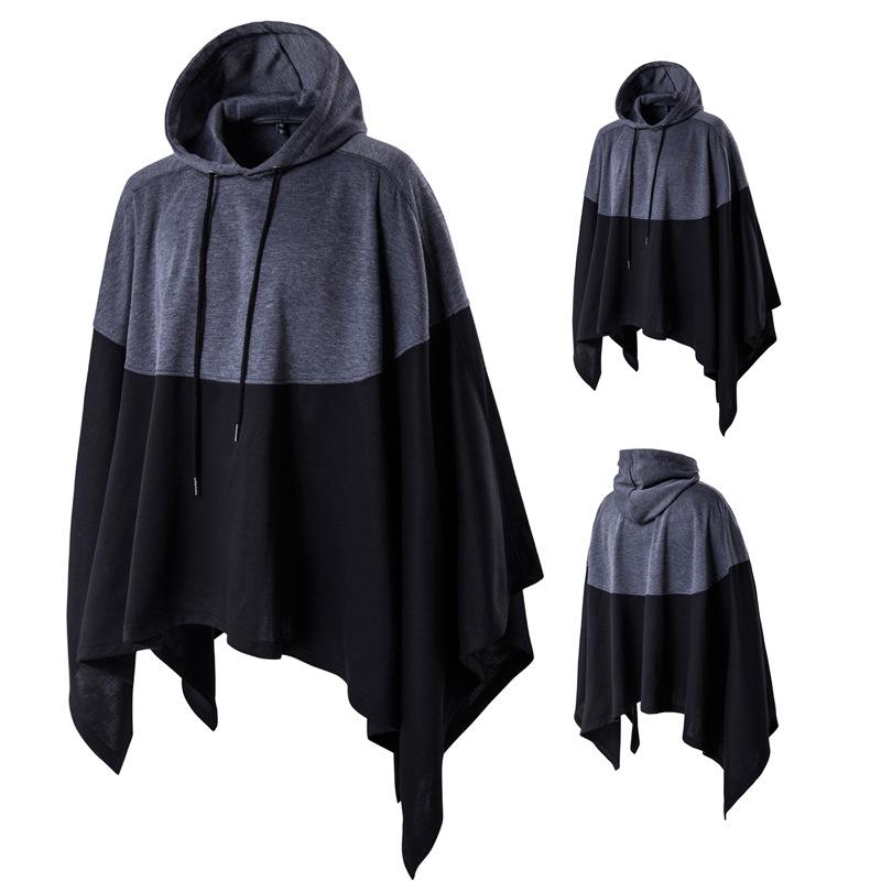 Aowofs Sweater (Áo nỉ chui đầu) Mùa xuân 2019 Hàn Quốc phổ biến áo choàng trùm đầu áo len khâu thời