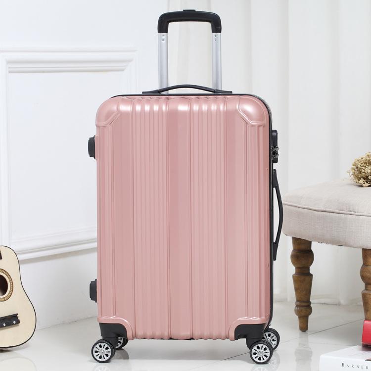 JINGMIFU thị trường túi - Vali Gương phổ bánh xe đẩy hành lý túi du lịch lên máy bay hộp hành lý nam