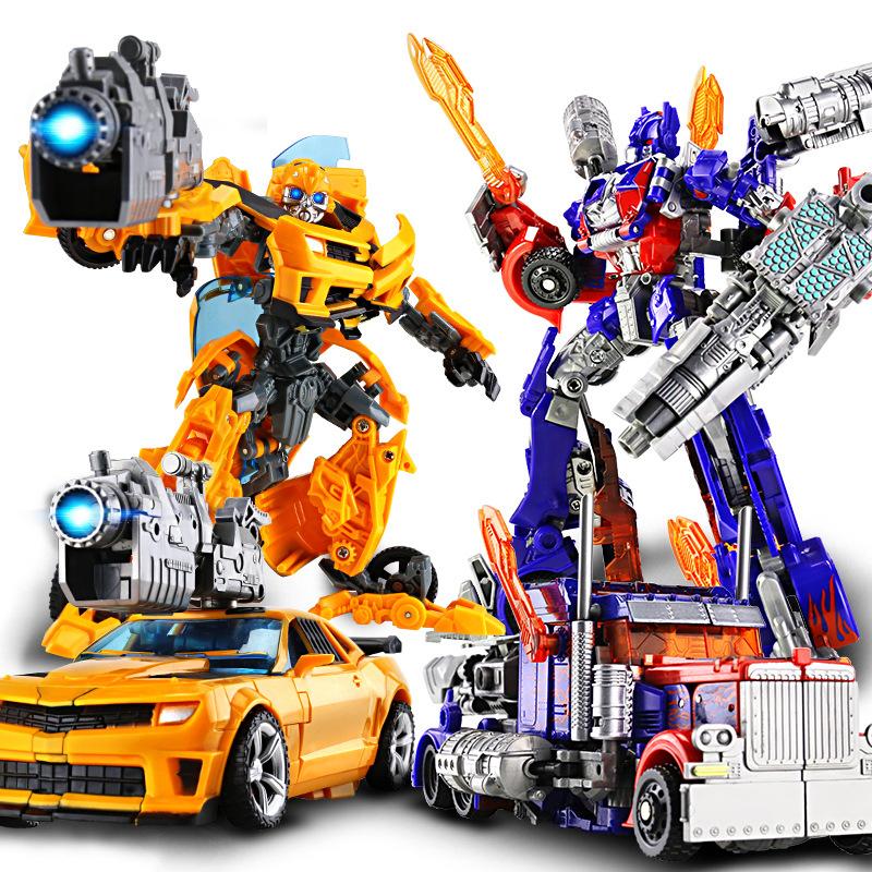 Đồ chơi biến dạng King Kong ô tô Robot Bumblebee Khủng long