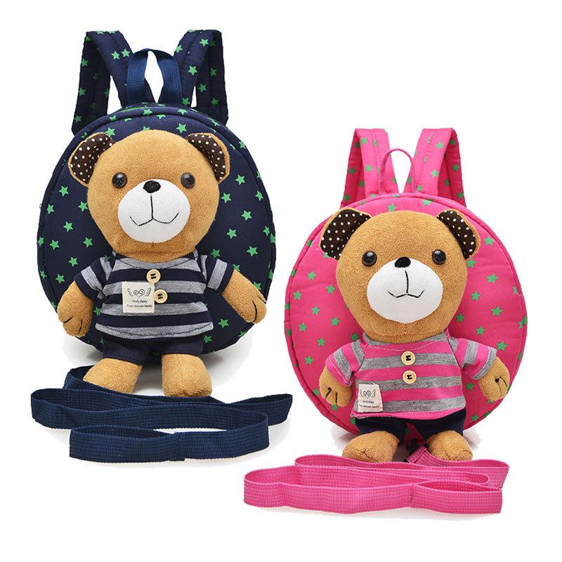 Cặp học sinh Hot Túi trẻ em mẫu giáo 1-3 tuổi bé dễ thương vai ba lô chống gấu mất phim hoạt hình tú