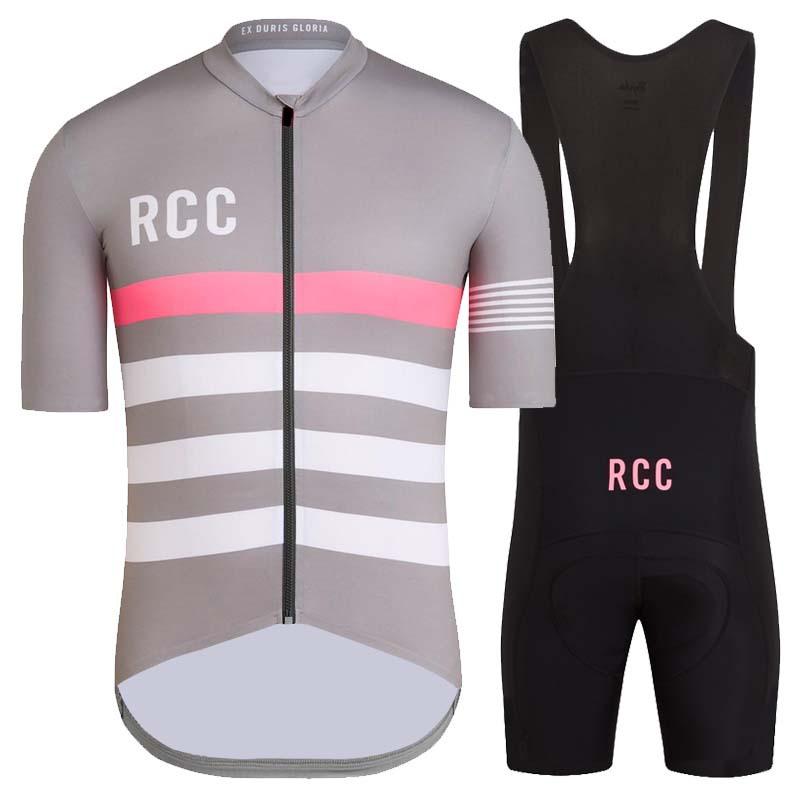 Trang phục xe đạp RCC RAPHA thương mại nước ngoài phổ biến mới phù hợp với bộ đồ đi xe đạp tay ngắn