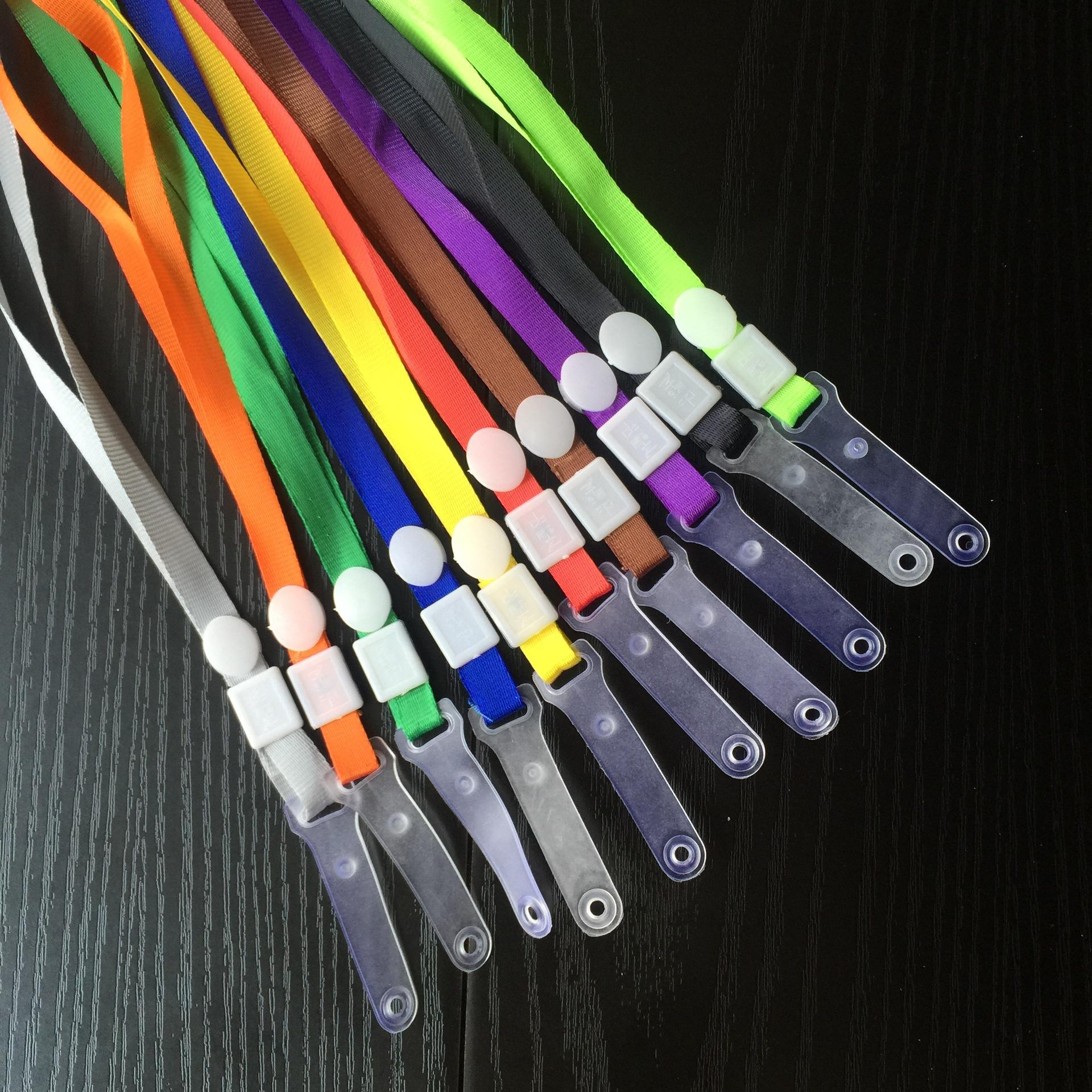 MEILI dây đeo Triển lãm giấy phép làm việc dây buộc huy hiệu dây buộc giấy chứng nhận dây buộc nhà m