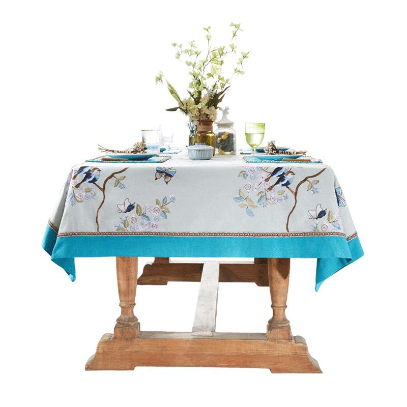 Bàn trà, khiêu vũ cánh bướm, vải bàn, phong cách mới Trung Quốc, phong cách châu Âu, nhanh nhẹn, khă
