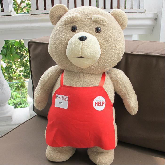 Búp bê vải Hương vị nặng nề dễ thương gấu bông Phim Mỹ teddy gấu bông búp bê đồ chơi sang trọng