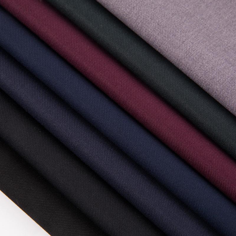 ZHECHU Vải dệt may Mới TR hai mặt serge twill serge đồng phục vải rayon serge vải áo gió phù hợp với