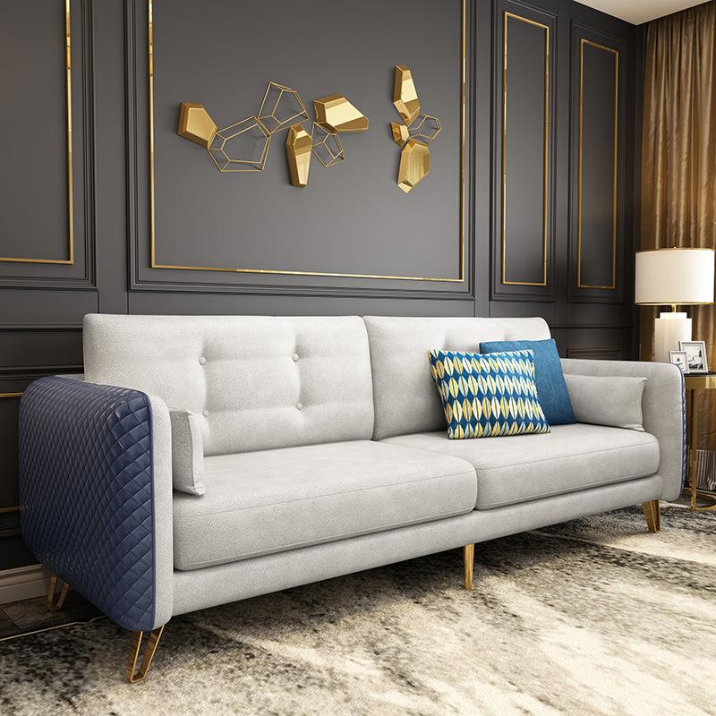 Bộ ghế sofa vải công nghệ nano nội thất phòng khách .