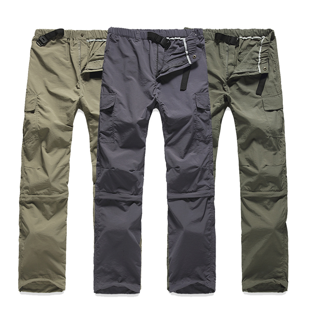 Quần áo mau khô Đồ lót ngoài trời nhanh khô vài mẫu quần áo có thể tháo rời quần áo nhanh khô Đồ lót