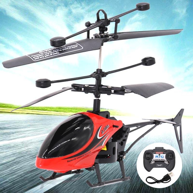 QF Máy bay điều khiển từ xa Máy bay trực thăng điều khiển từ xa với mô hình hàng không trẻ em chống