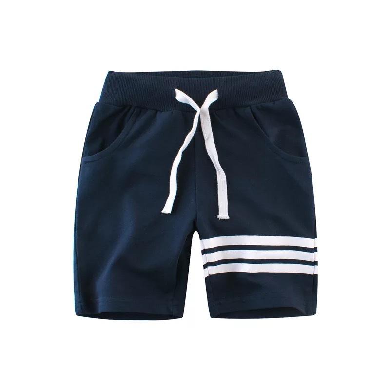 27KIDS Âu Mỹ Quần áo trẻ em châu Âu và Mỹ hè 2020 quần short trẻ em trai quần năm điểm quần trẻ em b