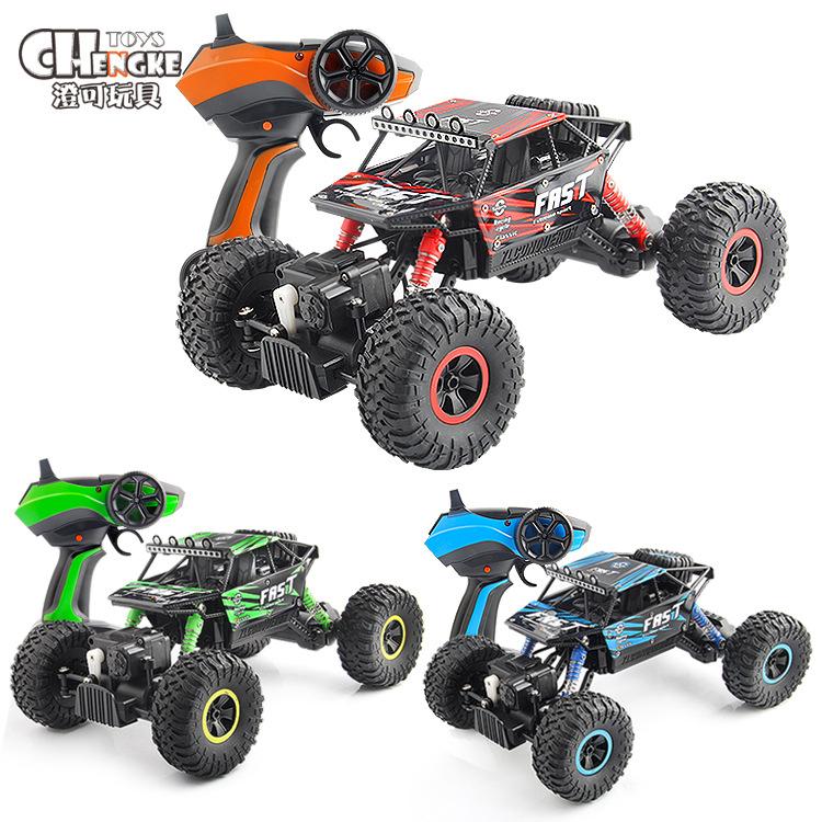 Chengke toys/ Xe điều khiển từ xa Sạc không dây điều khiển từ xa xe leo núi bốn bánh lái xe chân lớn