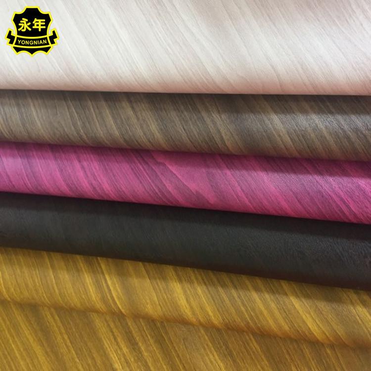 YONGNIAN Simili tổng hợp Gỗ vân gỗ vân gỗ PVC hạt da Nhà máy bán hàng trực tiếp bao bì bao bì điện t
