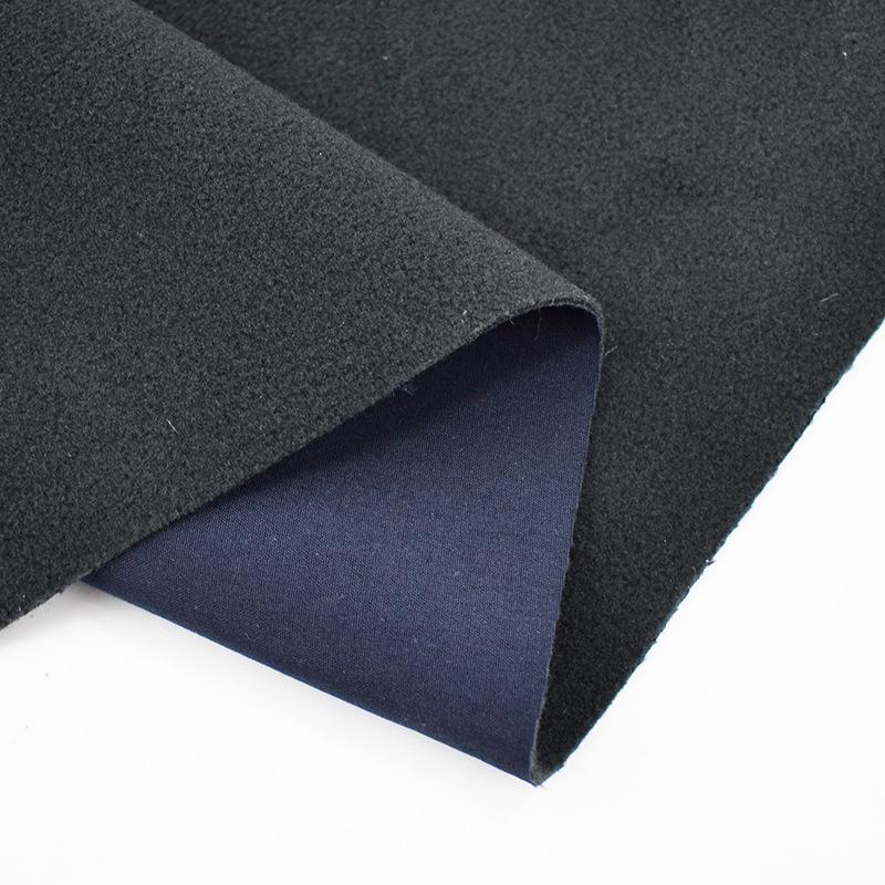 JIEXIA Vải dệt may Vải lông cừu tổng hợp, lông cừu tổng hợp dệt, màng thoáng khí TPU có thể được thê