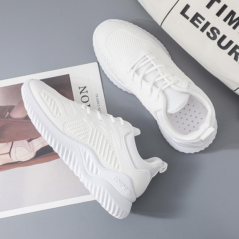 Giày thể thao phối lưới giúp thoải mái thoáng mát khi mang