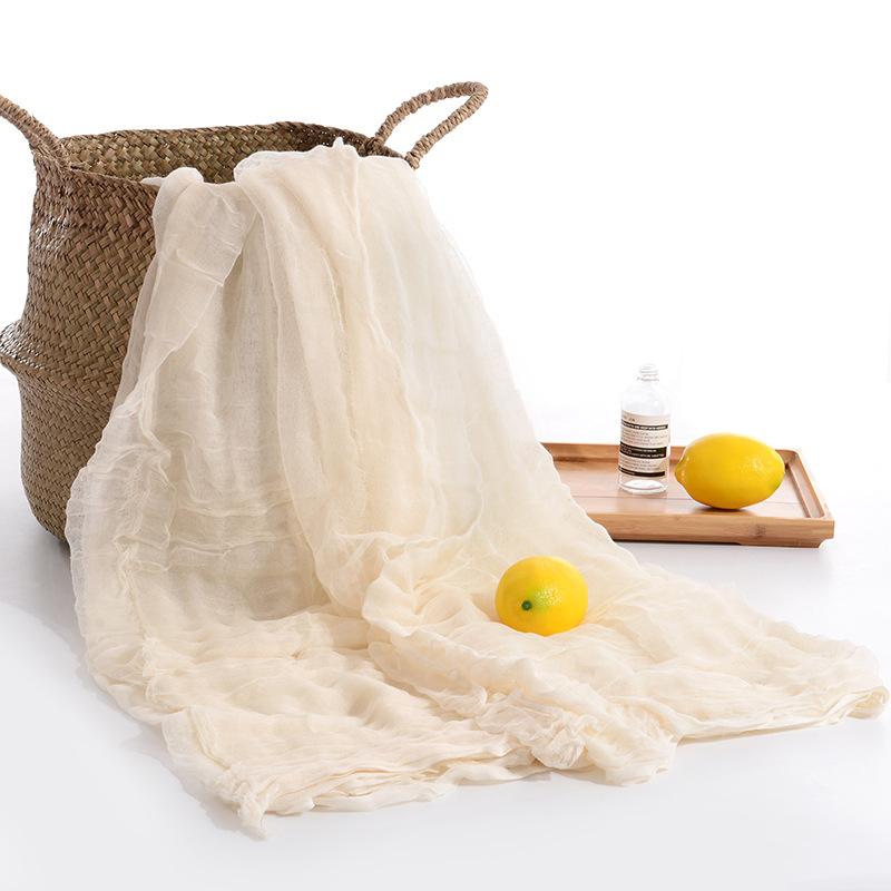 Vải Cotton mộc Bán buôn vải bông màu xám chăn gạc rộng 2,35 mét nhà dệt vải chăn che cung cấp