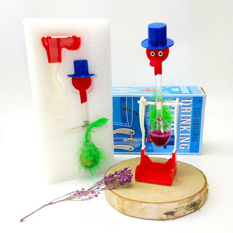 Đồ chơi sáng tạo Đồ chơi giáo dục khoa học trợ giảng sáng tạo cân bằng quà tặng chim uống nước chim