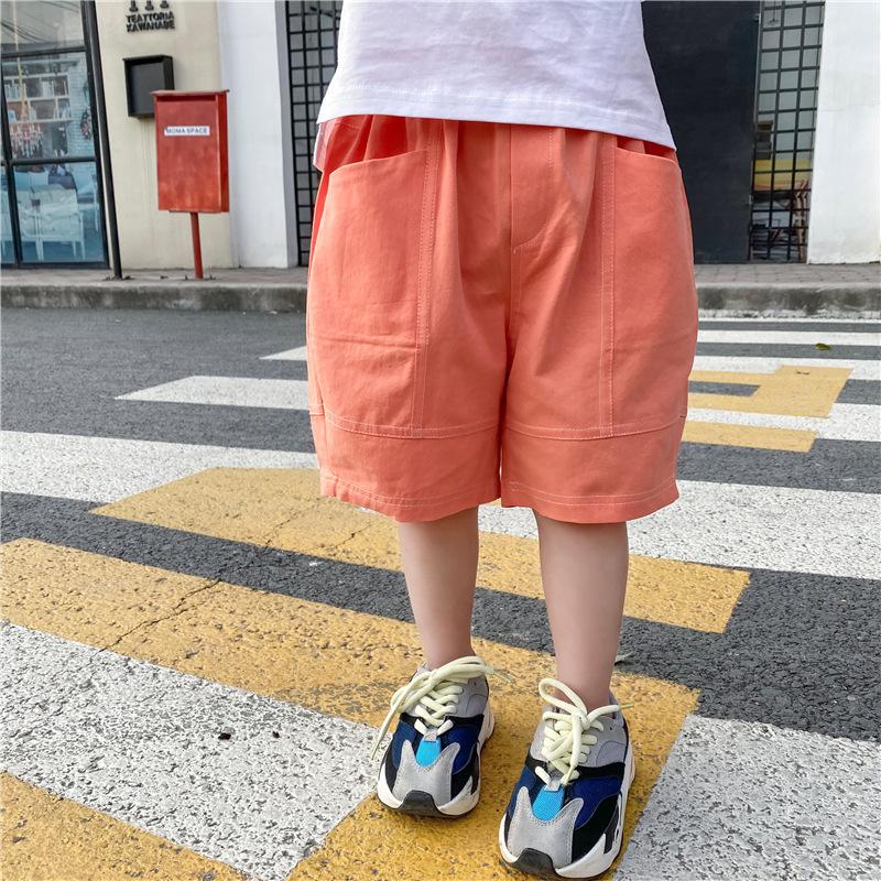 Snidols Trang phục trẻ em mùa hè Quần short trẻ em mùa hè Phiên bản Hàn Quốc của thương hiệu thời tr