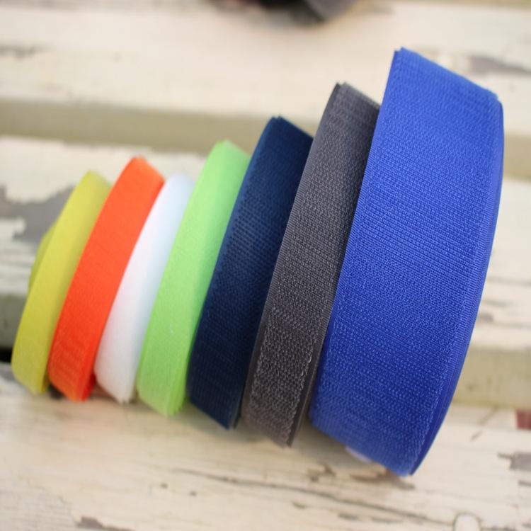 JIANXING Khoá dán Velcro đốm đen và trắng một số lượng lớn Velcro nylon pha trộn chất lượng cao Velc