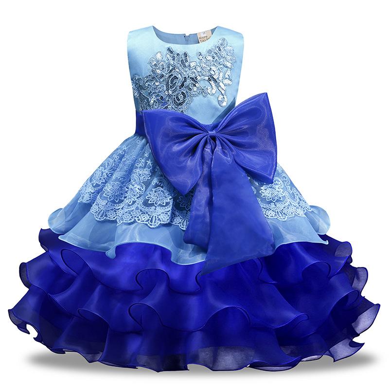 Kids Tales Trang phục dạ hôi trẻ em Váy cưới trẻ em công chúa váy AliExpress mô hình bùng nổ cô gái