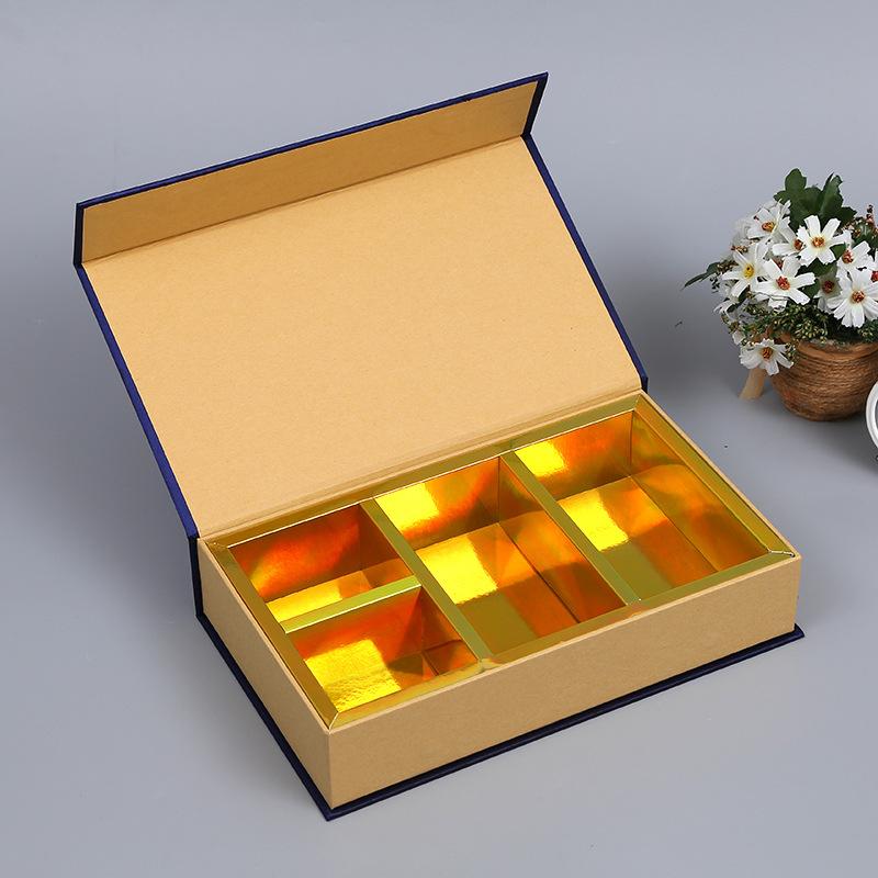 CAIYI NLSX bao bì Tùy chỉnh tông màu hình chữ nhật in bao bì phổ biến hộp quà tặng gấp hộp sáng tạo
