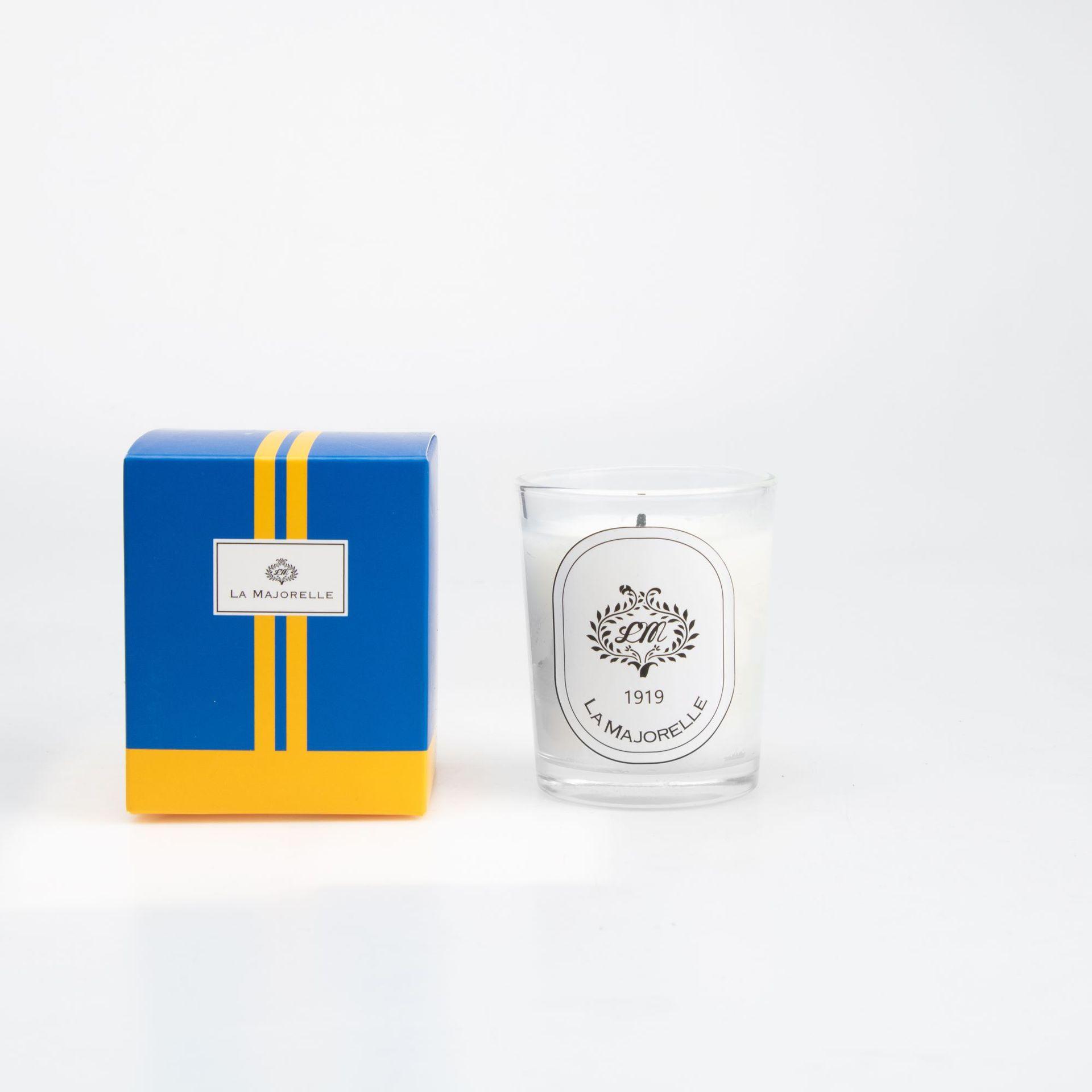 NLSX Nến Nhà máy trực tiếp nến thơm hình trụ nến thủy tinh thơm sáng tạo thủ công nến thơm trắng