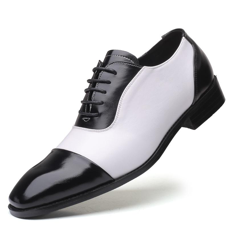 Giày da Giày nổ xuyên biên giới Giày nam cỡ lớn Giày thông thường Giày nam thời trang Giày nam
