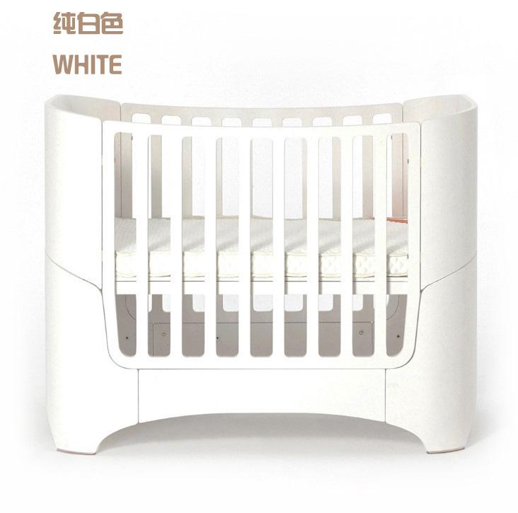 Cái giường bé nhỏ kiểu châu Âu có thể bẻ cong giường cũi gỗ có nhiều hàm trên giường con, giường bé