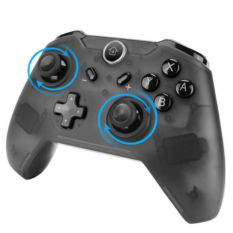 Nintendo switch wireless gamepad with screenshot, vibration, six-axis motion sensing bluetooth handl