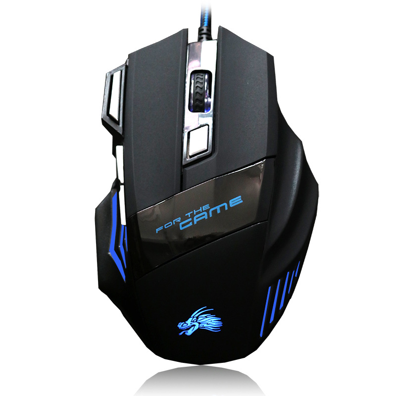 BEITASI Colorful luminous USB gaming mouse Computer backlit photoelectric USB wired mouse