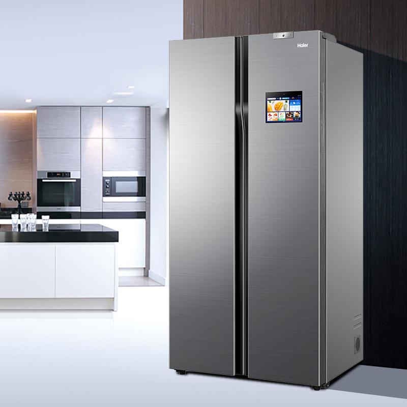 Tủ lạnh Haier Phiên bản Trung Quốc BCD-610WDIEU1 Tủ lạnh internet giữ nhiệt thông minh