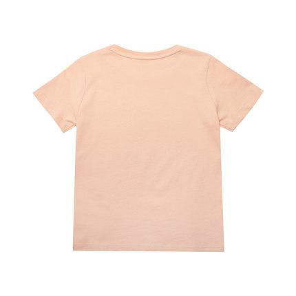 PUMA Áo thun trẻ em  Puma chính thức xác thực trẻ em mới in áo thun cổ tròn tay ngắn T4C 581315