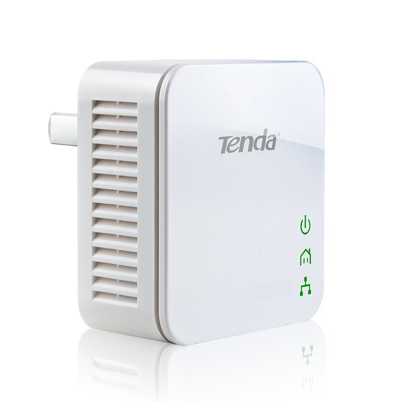Tenda (Tenda) P202 200M cable power cat through the wall treasure set support IPTV