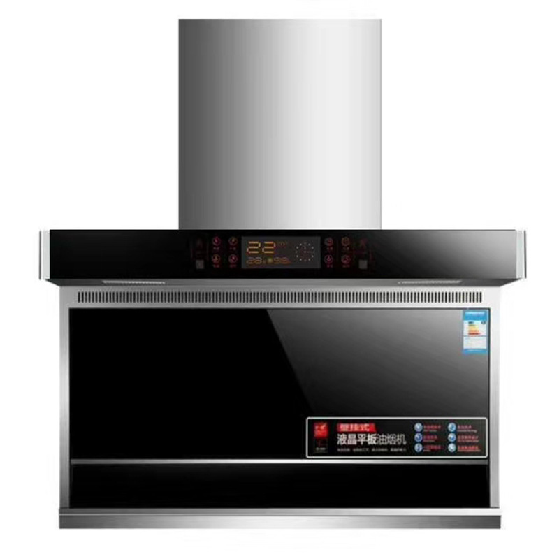 Factory direct stainless steel range hood, touch-type range hood, large suction side suction range h