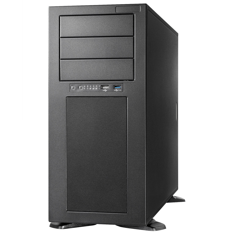 HY HY-T8 Tower Server Chassis Workstation 4 Graphics GPU Multi-drive E-ATX Motherboard Main Box