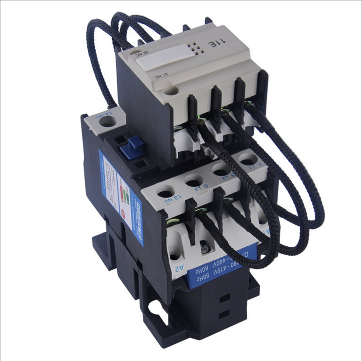 Shanghai people's factory direct sales, CJ19-43/11 switching capacitor contactor