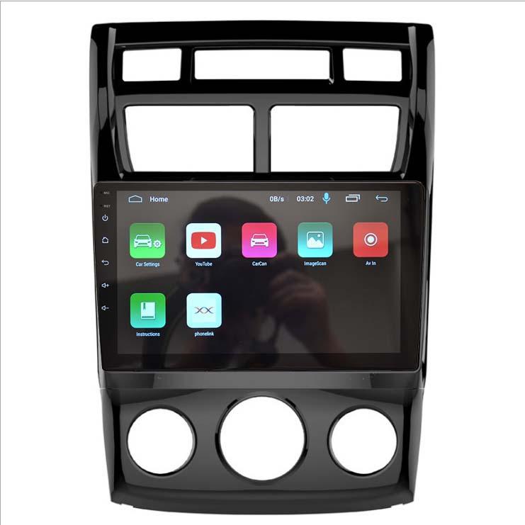 SUDA Thị trường đồ điện tử định vị Màn hình Android lớn phù hợp với máy điều hòa không khí thủ công