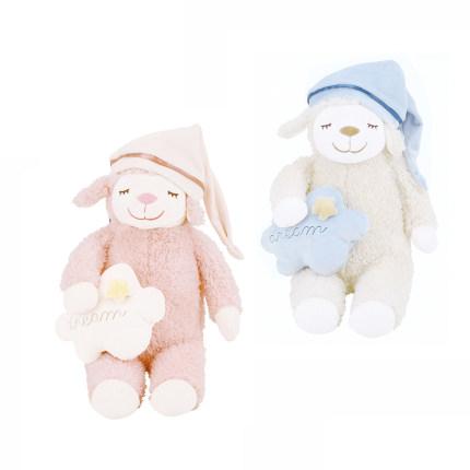 LIVHEART  Búp bê vải  Gối búp bê cừu Đồ chơi sang trọng Ragdoll Trẻ em dễ thương Ngủ búp bê Quà tặng