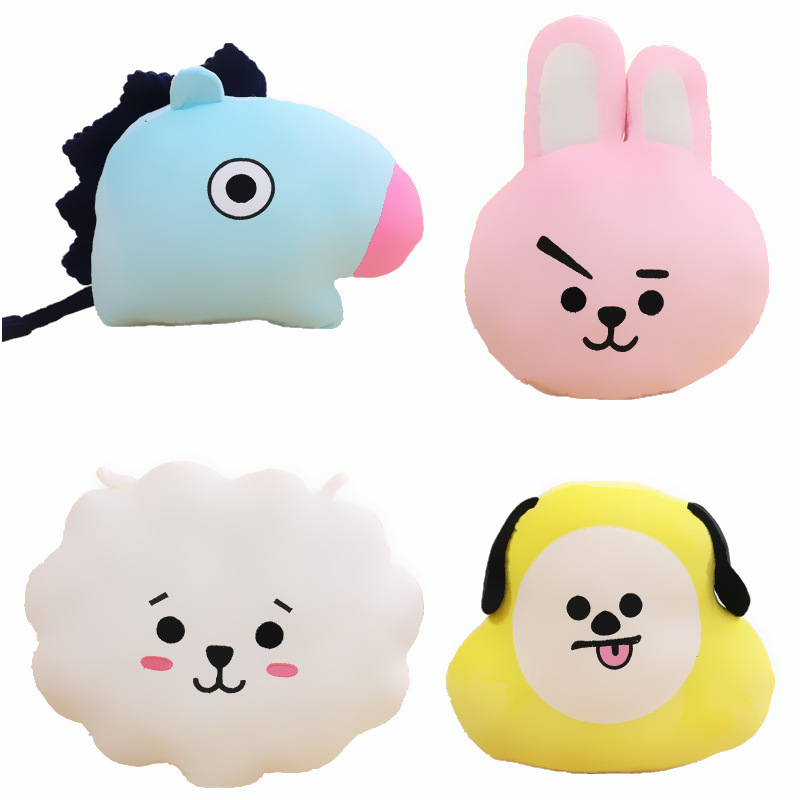 BTS Pillow Cushion Kim Tae Heng V Loving TA Pillow Doll Birthday Gift Plush Toy Girl